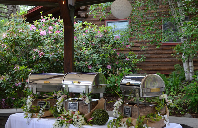 Wedding catering at Emerson Resort & Spa.
