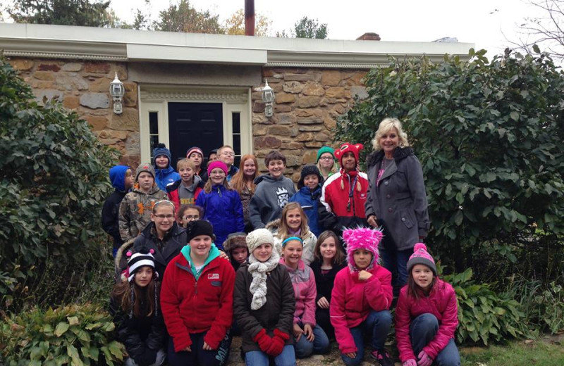 Class Visits at the Cothren House