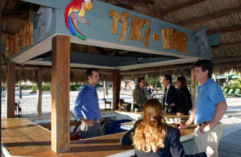 Tiki Bar at  Charleston Harbor Resort