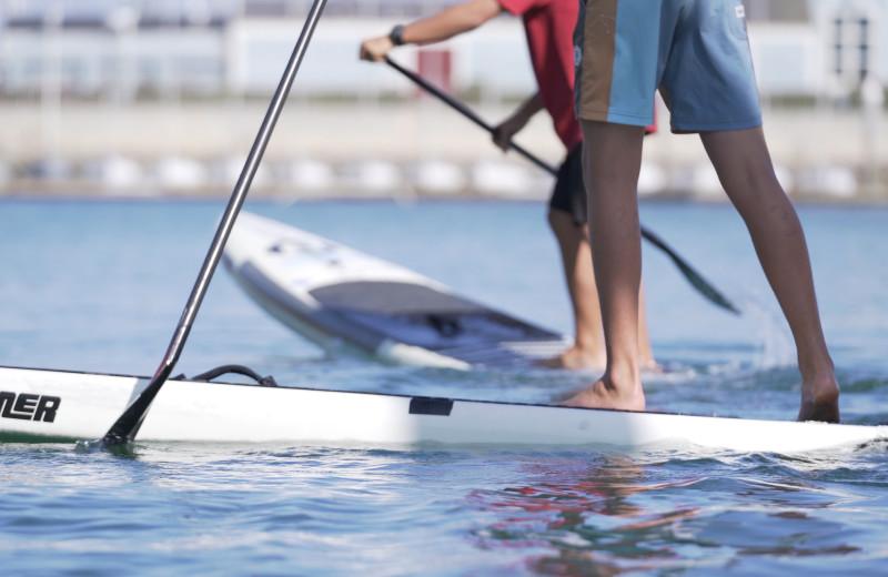 Paddle board at The Ritz-Carlton, Laguna Niguel.