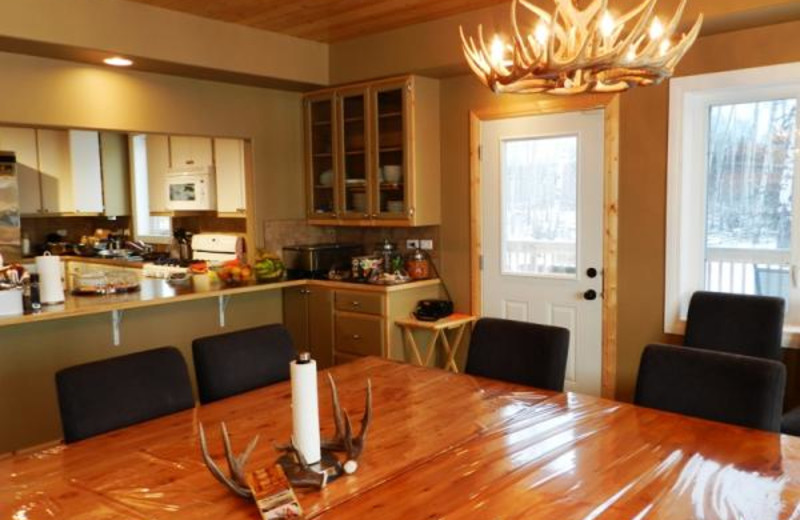 Guest room at Safari River Outdoors.