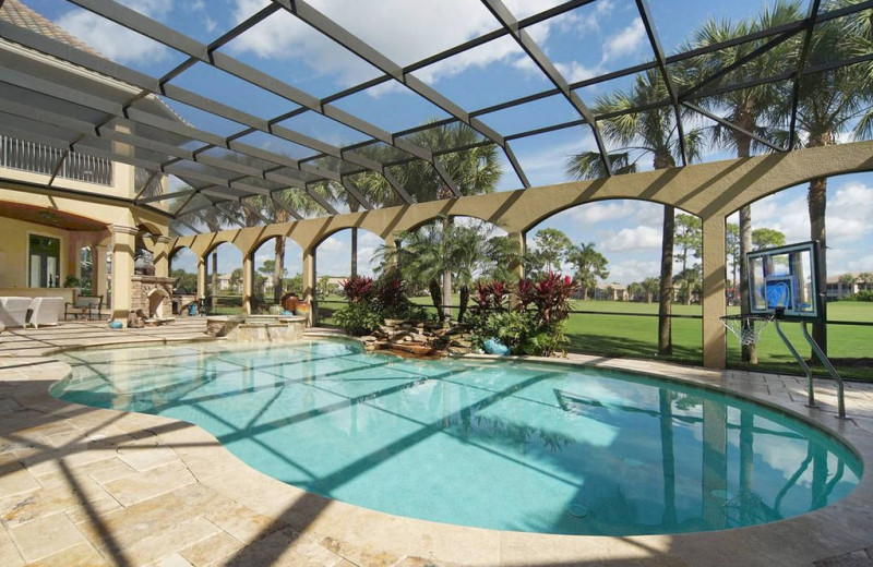 Rental pool at Realty Group Southwest Florida.