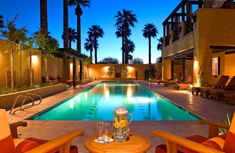Outdoor pool at The Wigwam Resort.