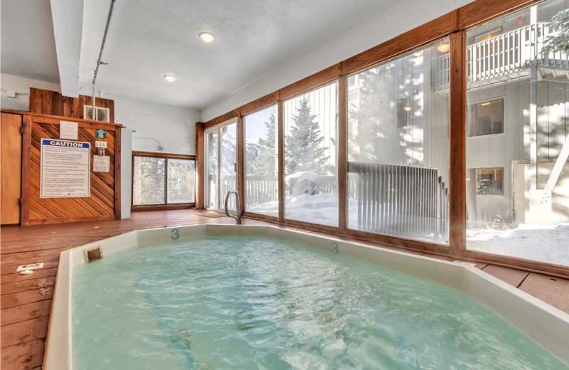 Rental pool at Canyon Services Vacation Rentals.
