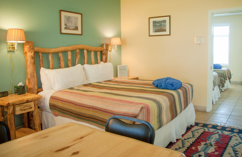 Guest room at Joyful Journey Hot Springs Spa.