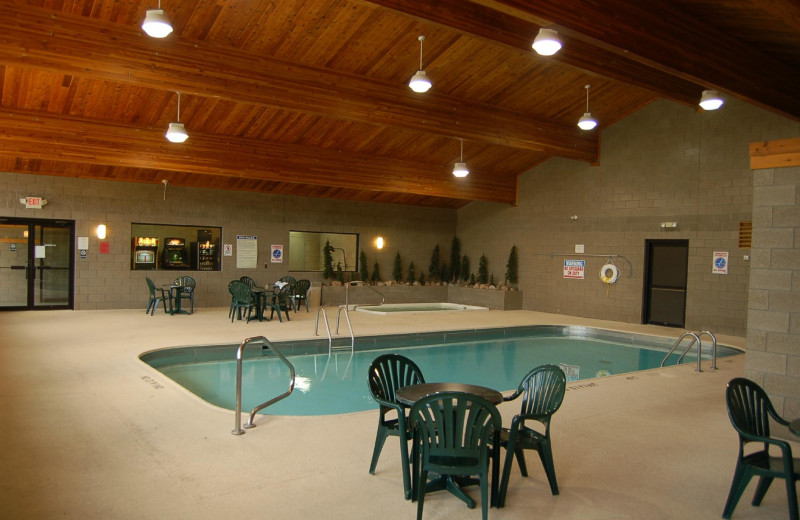 Indoor pool at Kavanaugh's Sylvan Lake Resort.