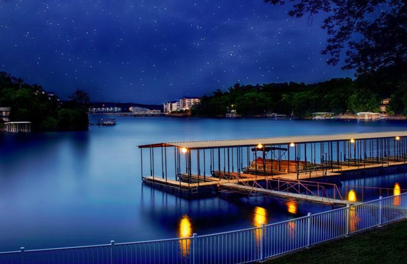 Lake view at Point Randall Resort.