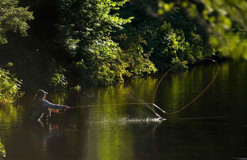 Fishing near The Sullivan.