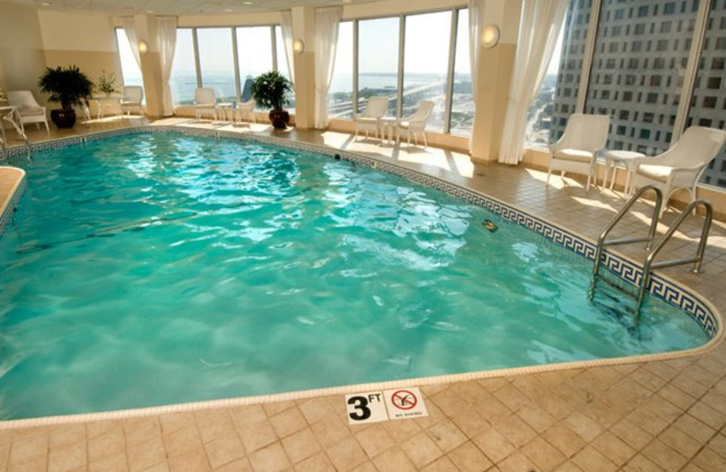 Indoor Pool at the Pfister Hotel
