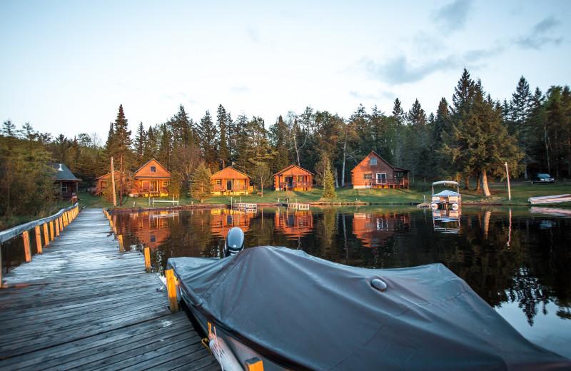 Lake view at Wilderness Bay Lodge and Resort.