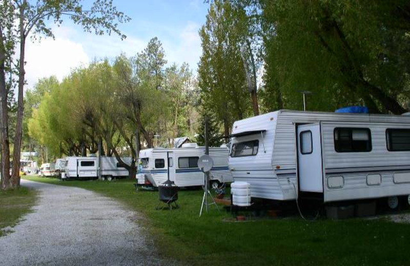Campsites at Silver Beach Resort.