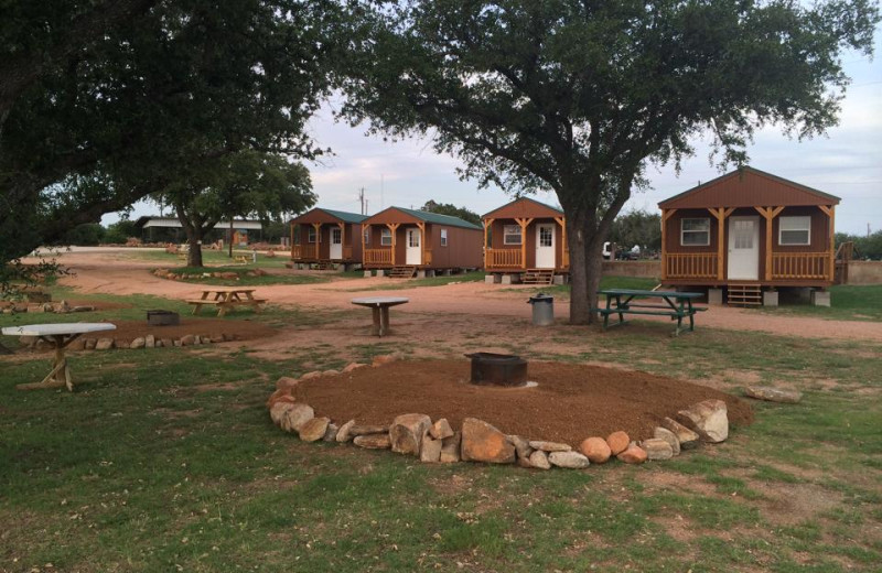 Cabins At Big Chief RV Resort.