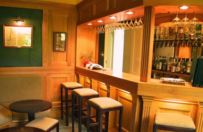 Bar at Well House Hotel.