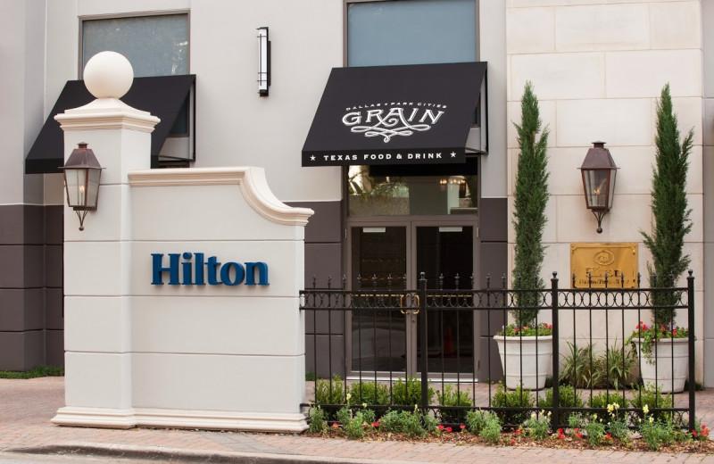 Exterior view of Hilton Dallas/Park Cities.