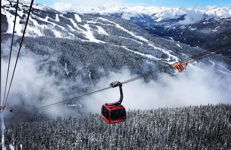 Gondola at Whistler Breaks.