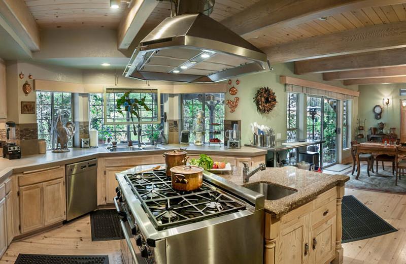 Kitchen at Casa Lana Bed & Breakfast.