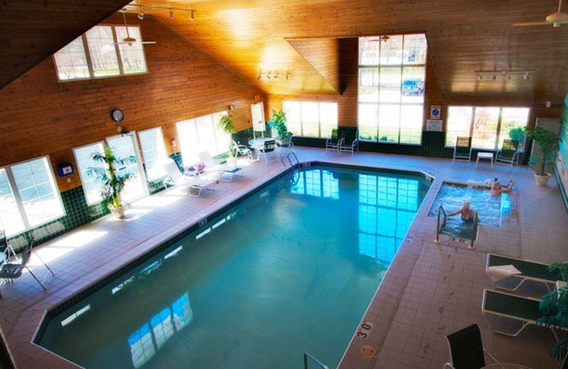 Indoor Pool at the High Point Inn