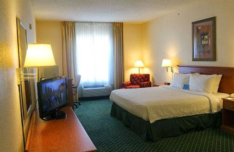 Guest room at Fairfield Inn Fort Leonard Wood St. Robert.