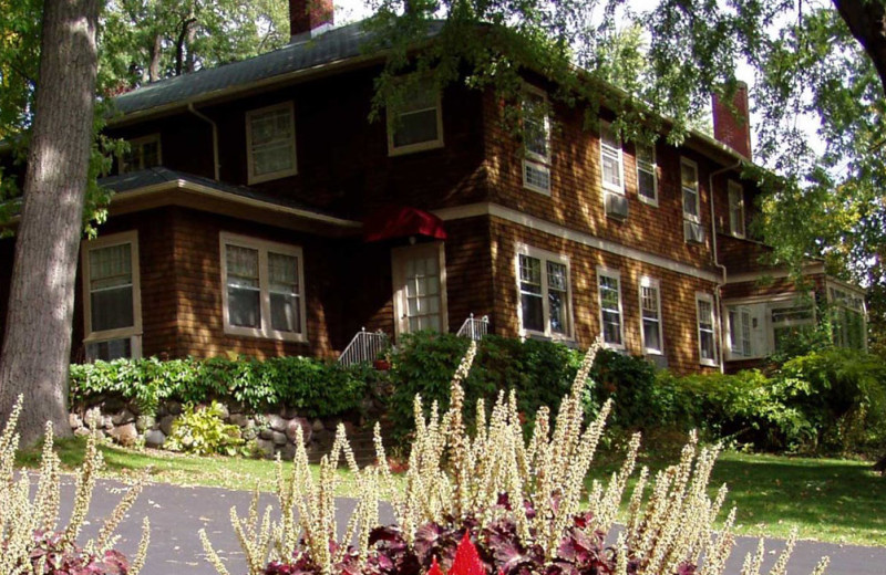 Guest house at Heidel House Resort.