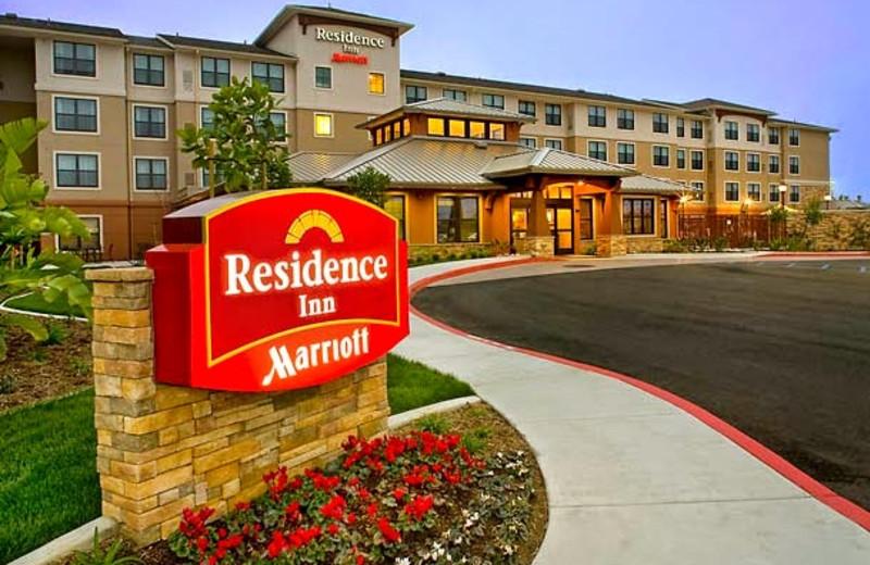Exterior view of Residence Inn by Marriott San Diego Oceanside.