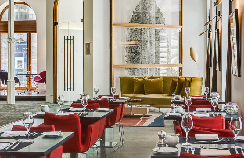 Dining at Hotel Gault.