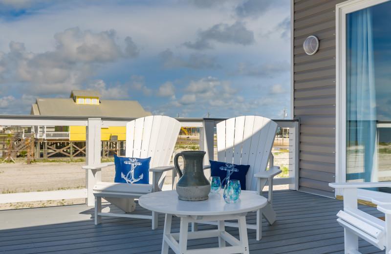 Rental porch at Boardwalk Realty Inc.
