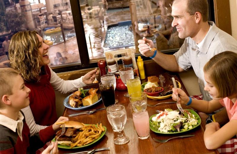 Dining at Timber Ridge Lodge & Waterpark.