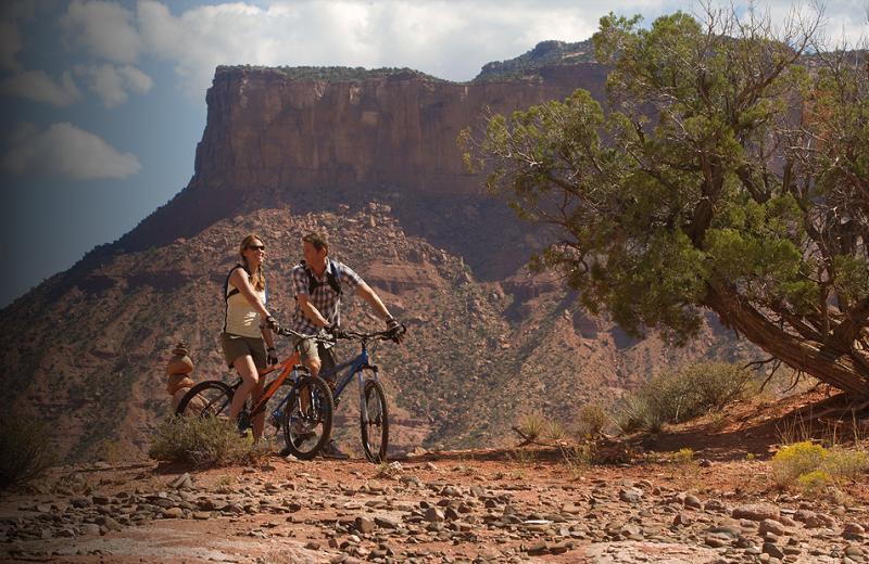 Bike Ride Trails at Gateway Canyons Resort