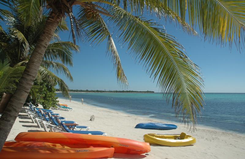 Beach at Casa Playa Maya.