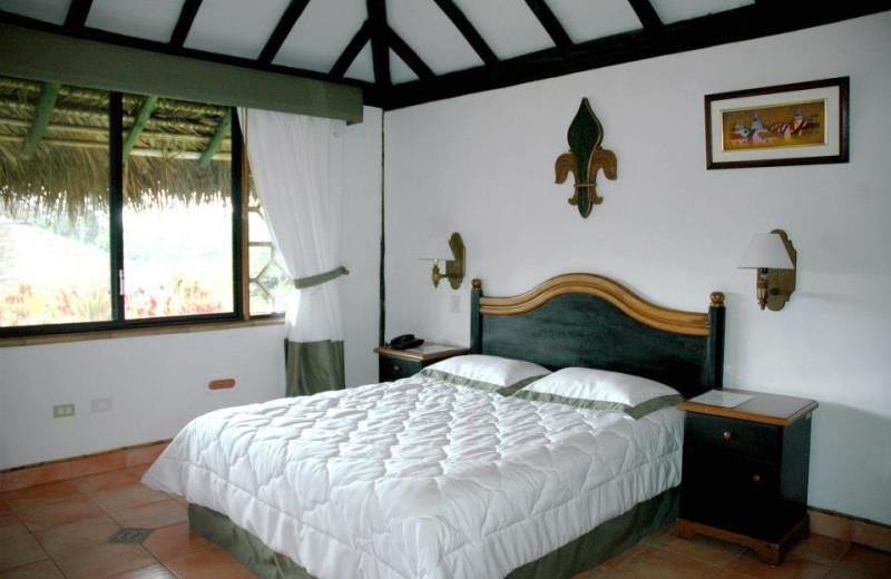Guest room at Arashá.