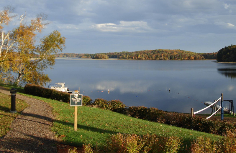 Lake view at Big Sandy Lodge & Resort.