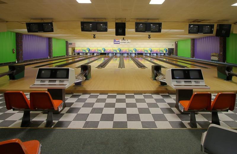 Bowling Alley at Shadowbrook Inn & Resort