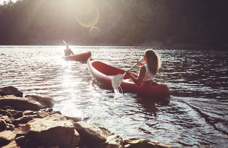 Canoeing at The Shawnee Inn and Golf Resort.
