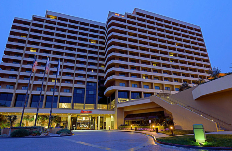 Exterior view of San Diego Marriott La Jolla.