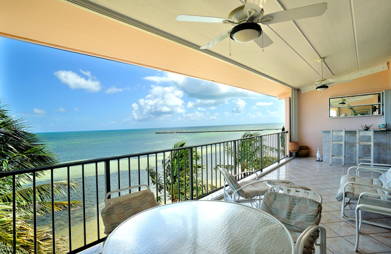 Deck view from Rent Key West Vacations.