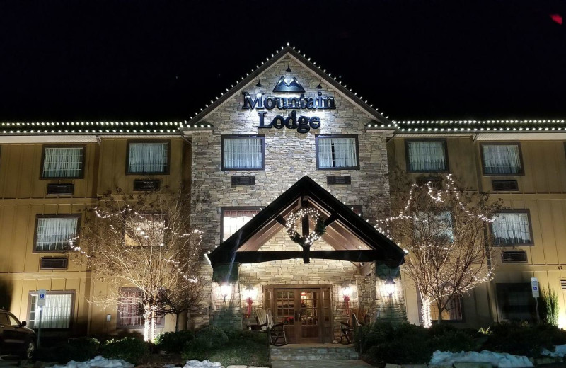 Exterior view of Mountain Lodge