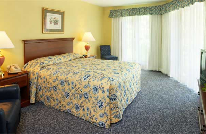 Guest room at Summit Resort.