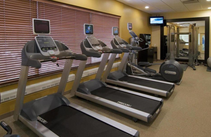 Fitness room at Hilton Garden Inn Cleveland East/Mayfield Village.