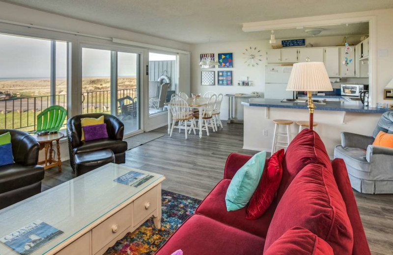 Rental interior at Gearhart by the Sea.