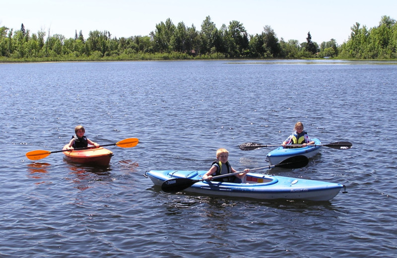 Kayaking at Kokomo Resort.