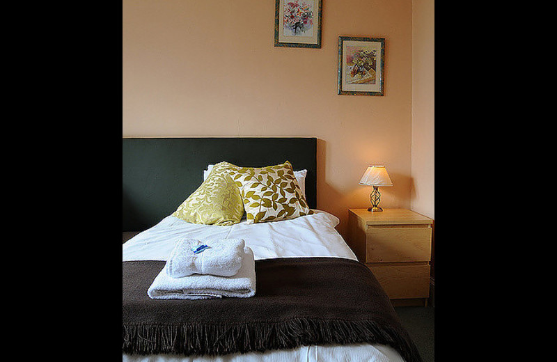 Guest room at Craigerne House Hotel.