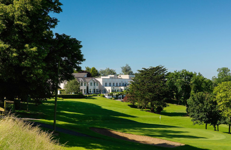 Exterior view of Nuremore Hotel, Country Club and Golf Course.