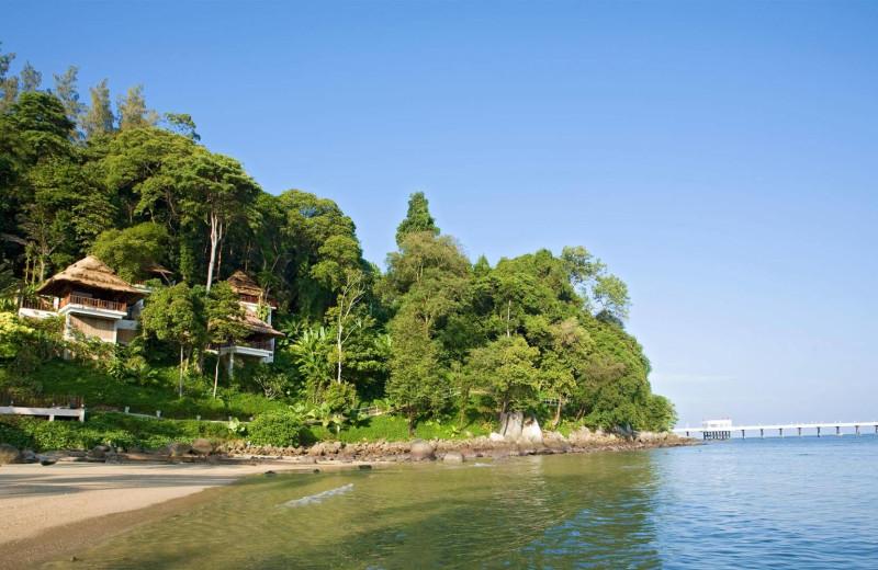 The beach at Amari Coral Beach Resort.