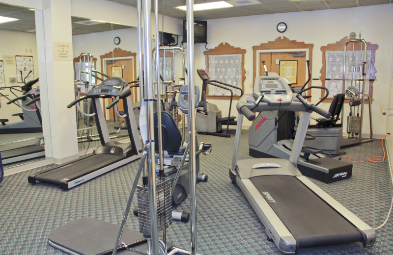 Fitness room at Bavarian Inn of Frankenmuth.
