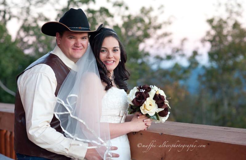 Wedding at Buffalo Outdoor Center.