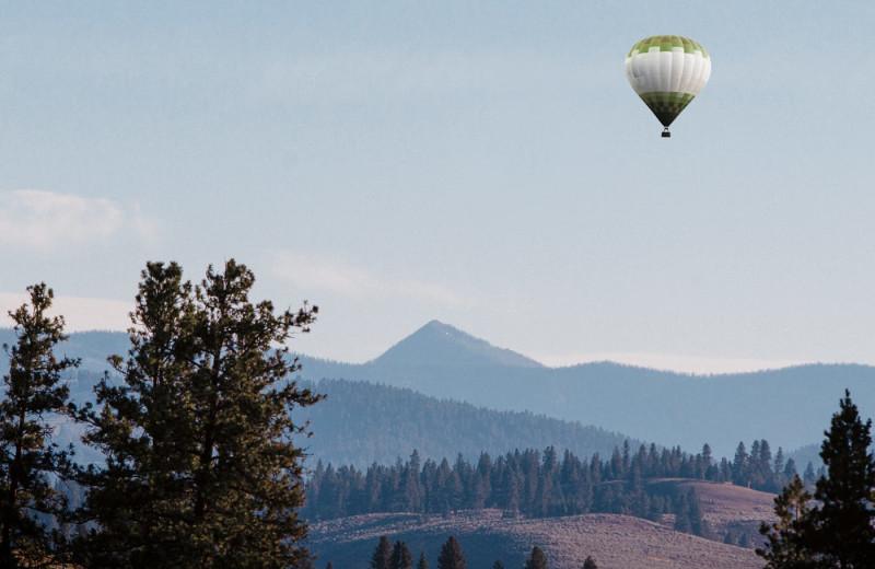 Balloon rides at The Green O.