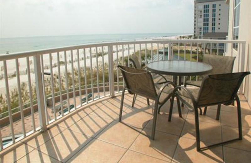 Balcony View at Meyer Vacation Rentals