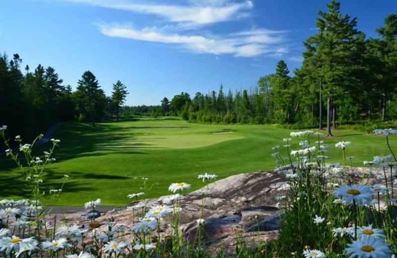 Golf course near Lumina Resort.
