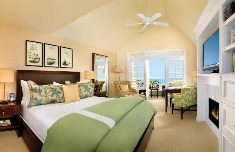 Guest room at L'Auberge Del Mar Resort & Spa.