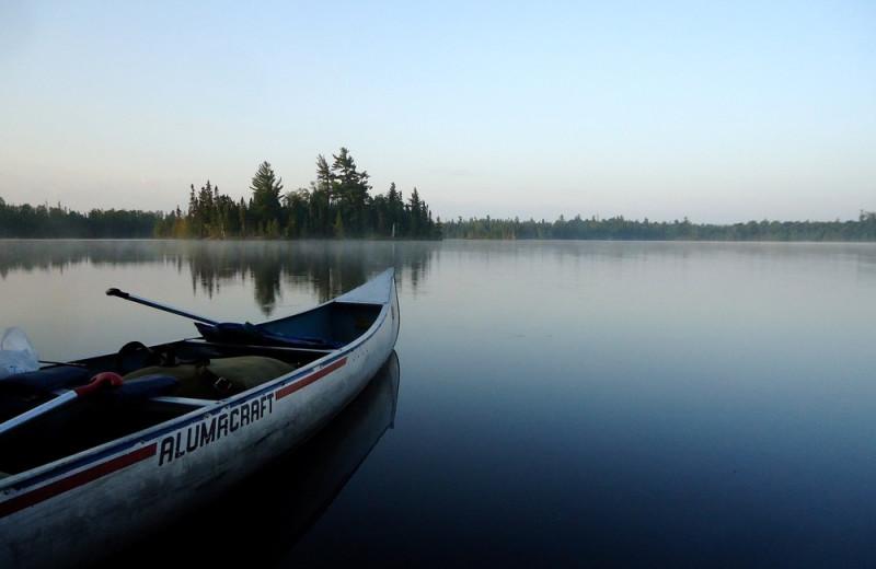 Gunflint Lake at Heston's Lodge.